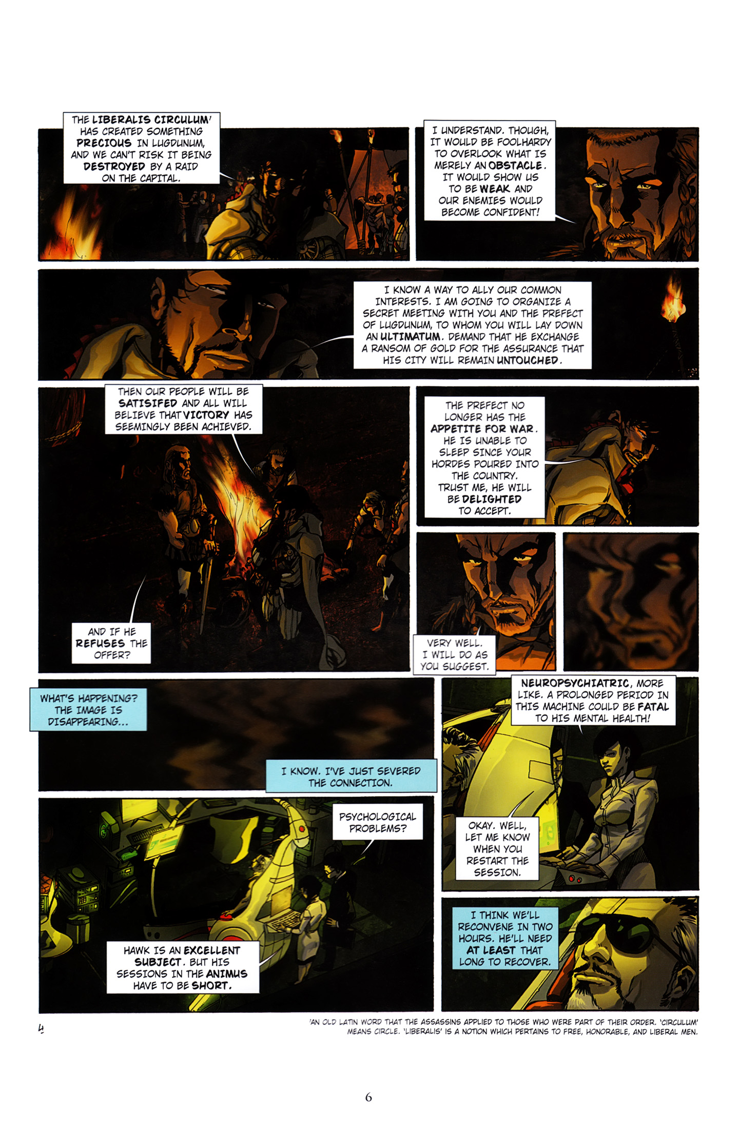 Read online Assassin's Creed (2012) comic -  Issue #3 - 10