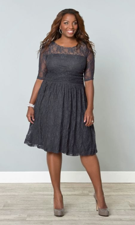 rcbzrcbz: Plus size clothes gray
