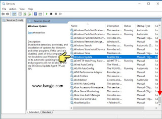 Langkah 2 Cara Disable Windows Update Windows 10 Service Wuauserv