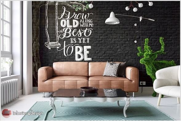 Magical living room wall ideas 9
