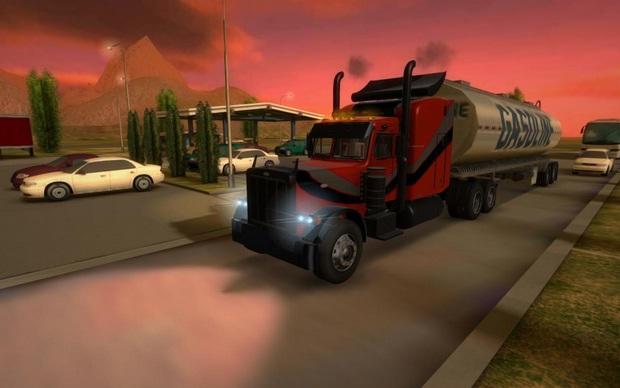Truck simulator 3D terbaru 2016