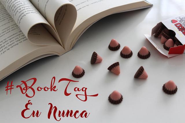 #BookTag Eu Nunca