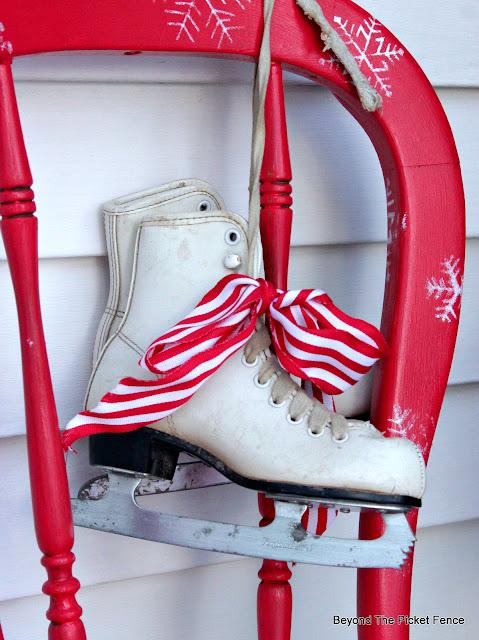 thrift store ice skates