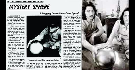 Enigma da 'Esfera dos Betz' - mistério é finalmente revelado