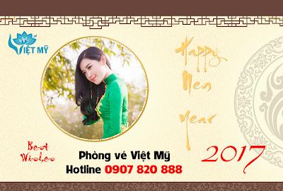 Vé máy bay Tết đi Việt Nam