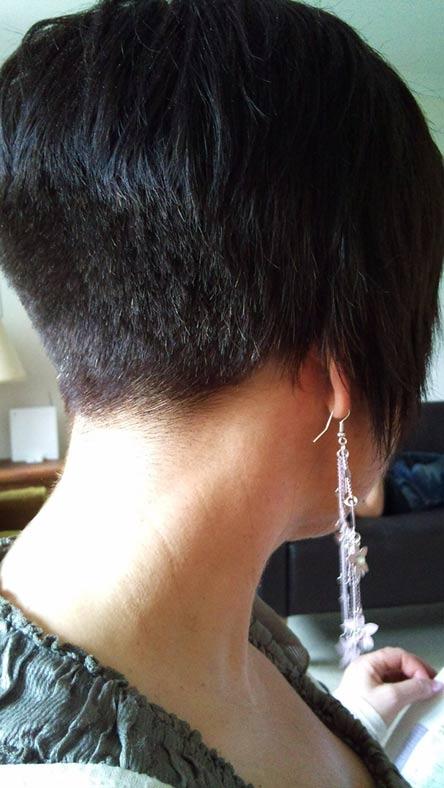 Short Hair Heaven Buzzed Napes