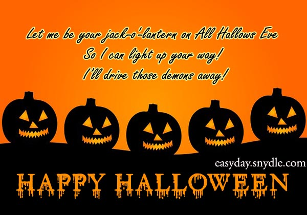Happy Halloween Scary Wishes & Quotes 2017 - Top Best Wishes Pictures of ...