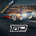 Top Speed: Drag & Fast Racing Icon Logo