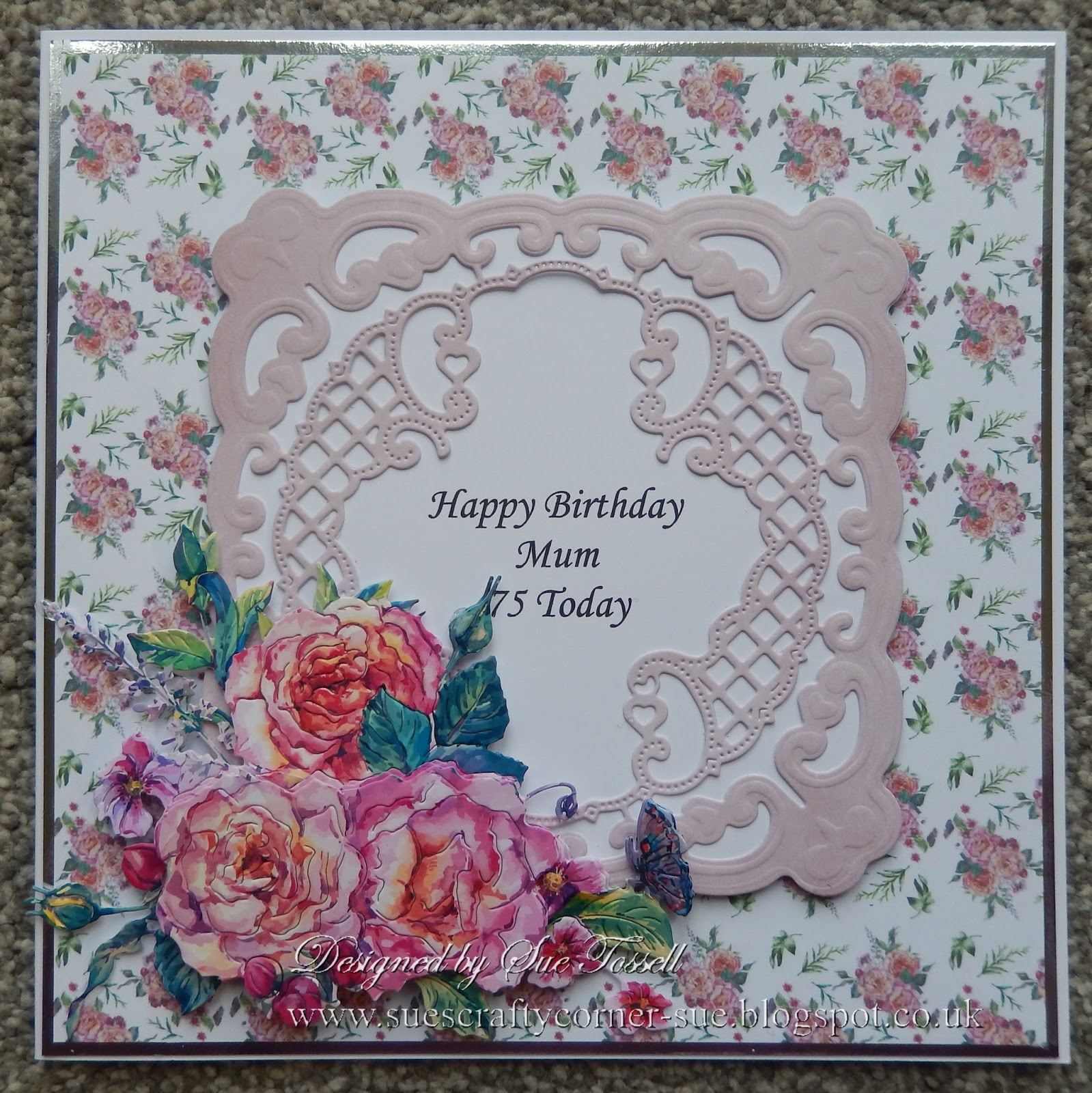 Sues Crafty Corner More 75th Birthday Cards