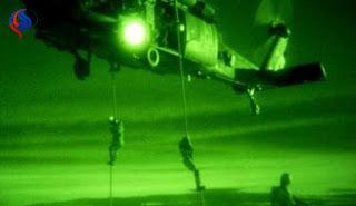 فضيحة : إنزال للجيش الامريكي في دير الزور في سوريا لسحب عملائها من قادة داعش !