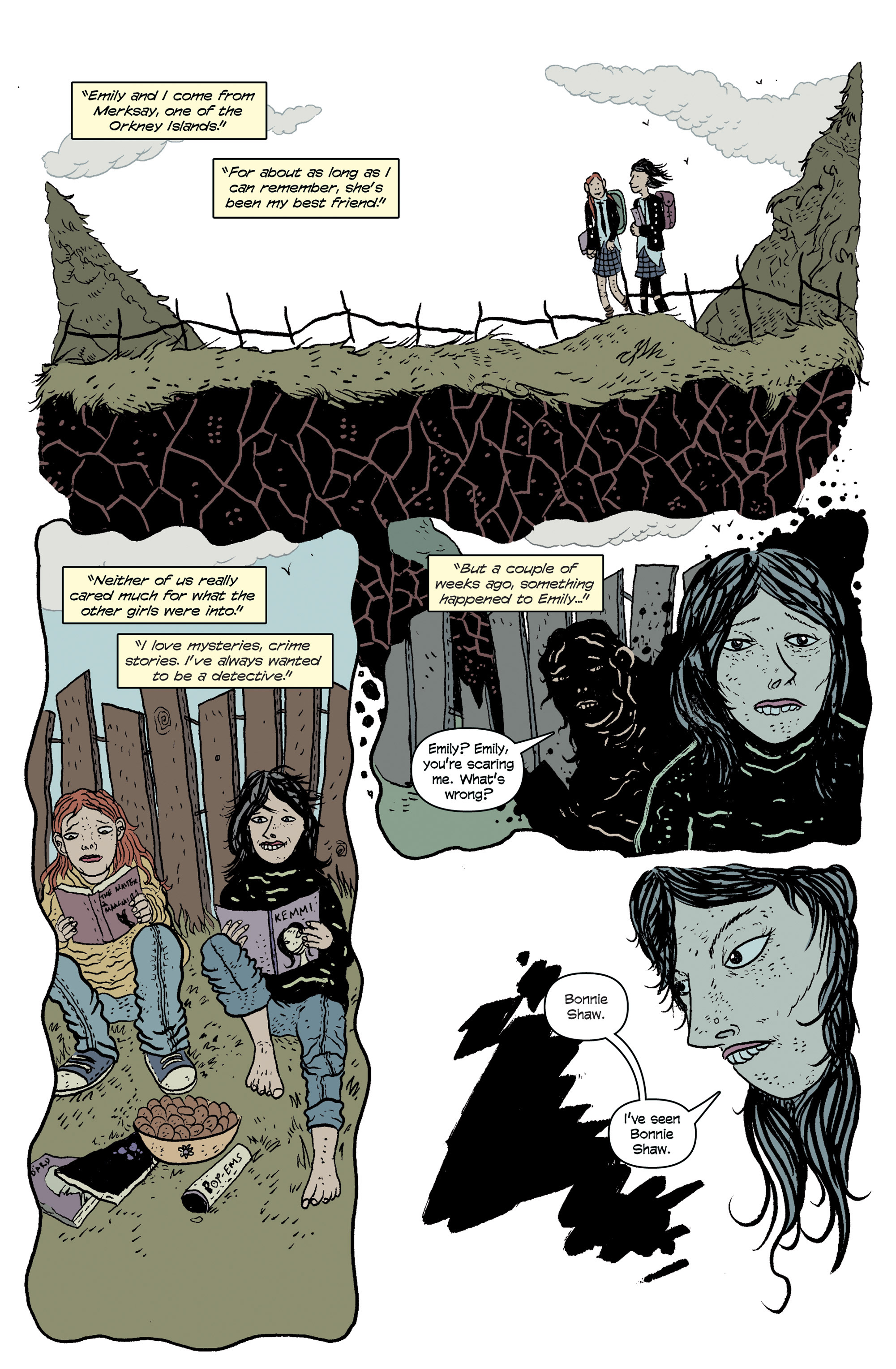 Read online And Then Emily Was Gone comic -  Issue #1 - 10