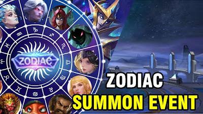 12 Skin Zodiac Mobile Legends