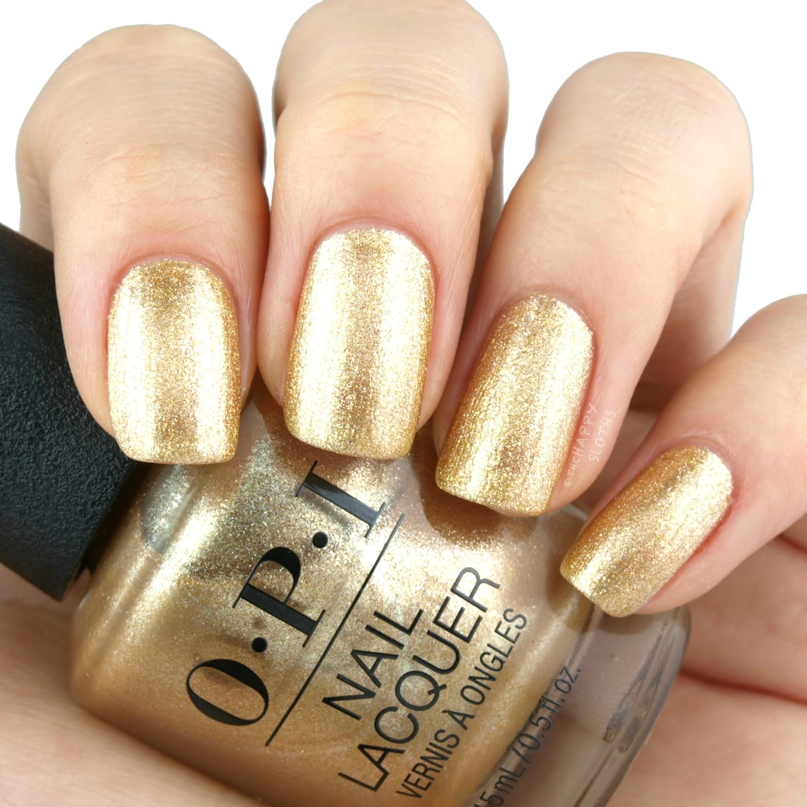 OPI   Holiday 2018 Nutcracker Collection   Dazzling Dew Drop: Review and Swatches