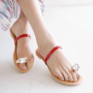 Toe ring flats