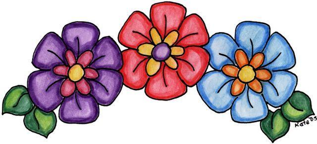 Imagenes De Flores Y Mariposas Imagenes Y Dibujos Para Imprimir
