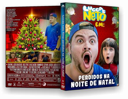 CAPA DVD – Luccas Neto Perdidos Na Noite De Natal – ISO