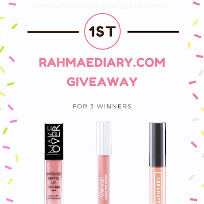 Rahmaediary.com: New! Wardah Exclusive Matte Lip Cream 03