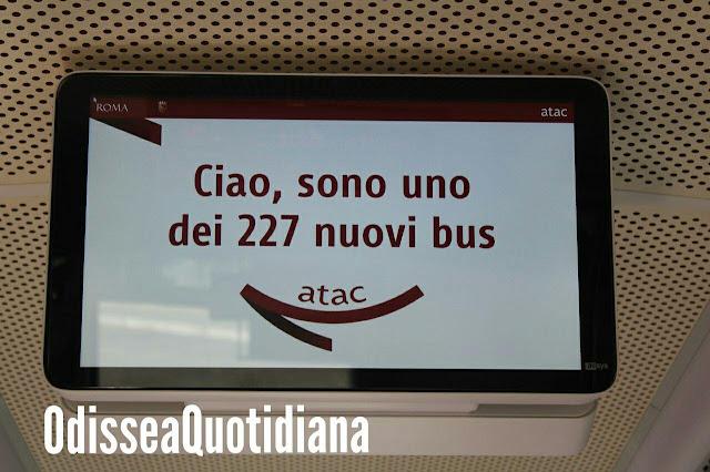 Viaggio sui nuovi autobus Atac