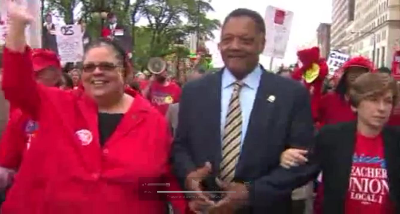 One Third Of Chicago Teachers Hold Massive Rally