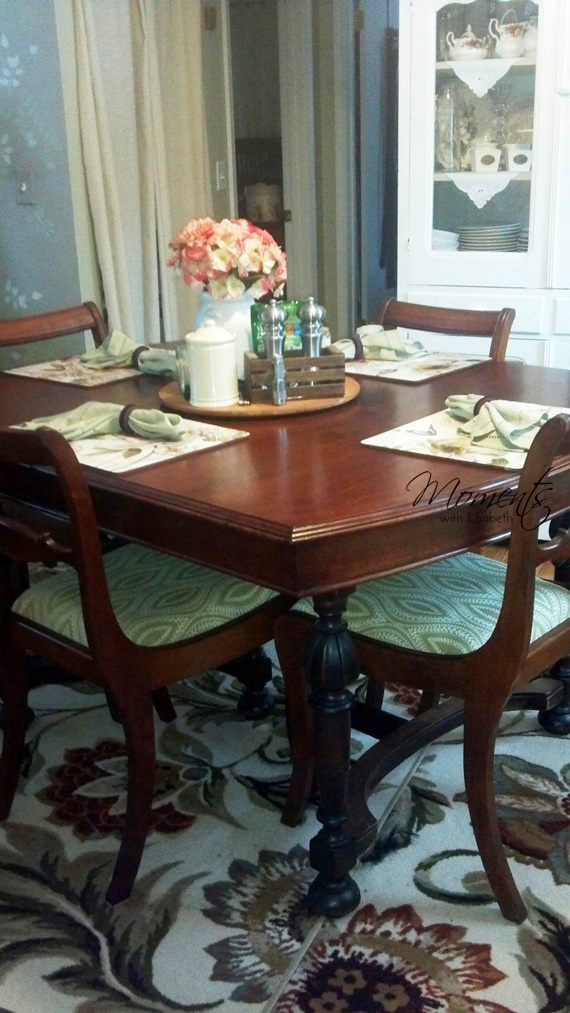 Make a formal table more casual