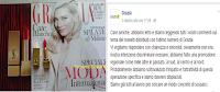 Logo Grazia rossetto Yves Saint Laurent omaggio : scuse pubbliche per chi non ha potuto trovarlo! Colpa anche di chi eccede?