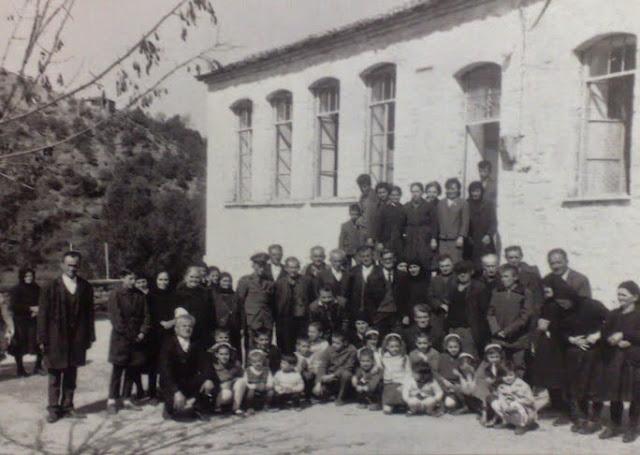Αποτέλεσμα εικόνας για το παλιό σχολείο στο Λίμποβο Θεσπρωτίας