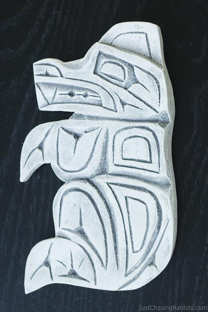 Art made from Mt. Saint Helens Ash