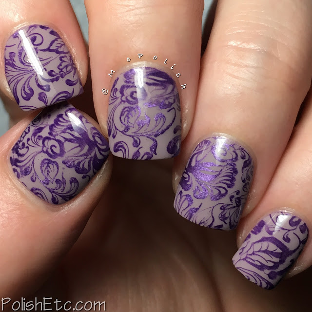 Delicate print nails for the #31DC2018Weekly by McPolish