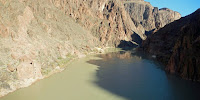 The Colorado River, Grand Canyon National Park, Arizona: A fifth of its flow went in 14 years. (Image Credit: Fredlyfish4 via Wikimedia Commons) Click to Enlarge.