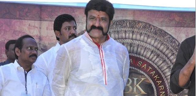 Nandamuri Mokshagna was Asst. Director for Gautamiputra Satakarni