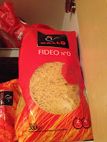 Fideos Gallo no. 0. in the UK, London, England