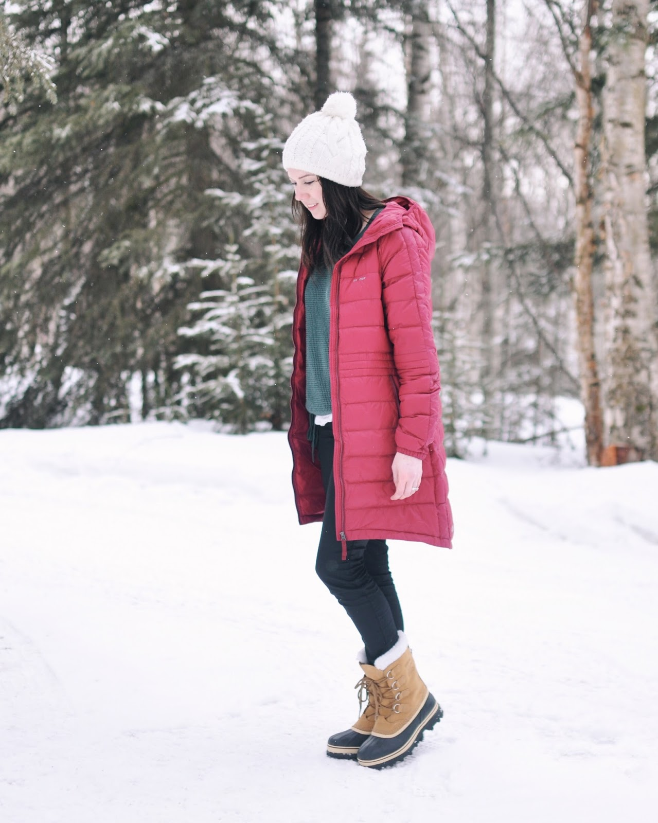 sorel boots skhoop coats march anchorage blogger