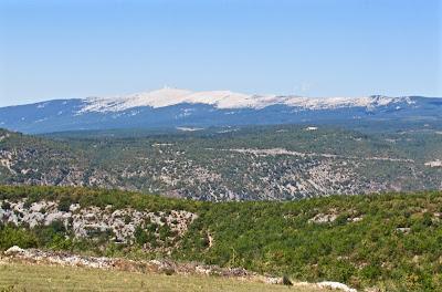 Mount Ventoux en été