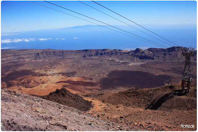 Téléphérique du pic de Teide Tenerife Canaries