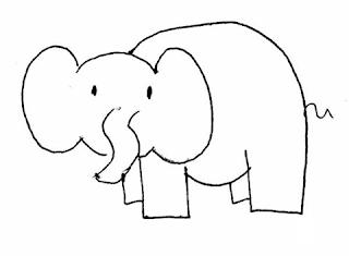 apprendre-a-dessiner-un-elephant-2 Comment dessiner un éléphant
