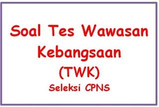 Contoh Soal dan Jawaban Tes Wawasan Kebangsaan (TWK) CPNS