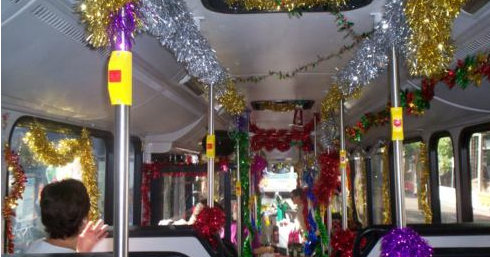 Christmas and New Year buses and trains in Galway, 2016/17