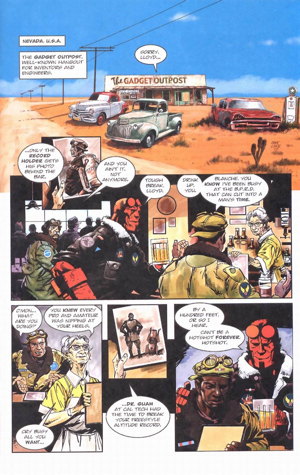 Read online Hellboy: Weird Tales comic -  Issue #2 - 3