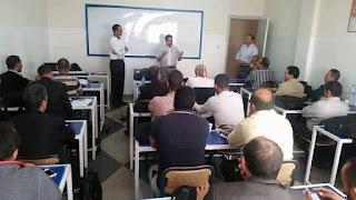جمعية أوراق رقمية، في دورة تكوينية بمدينة مكناس، من 4 حصص، حول تدبير الزمن المدرسي عبر برنامج fet