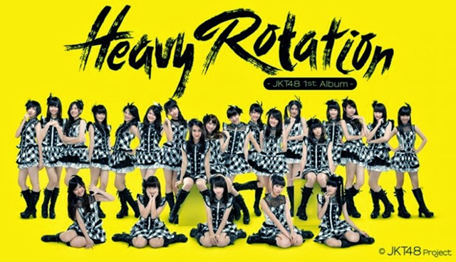 Heavy Rotation 1st Album JKT48
