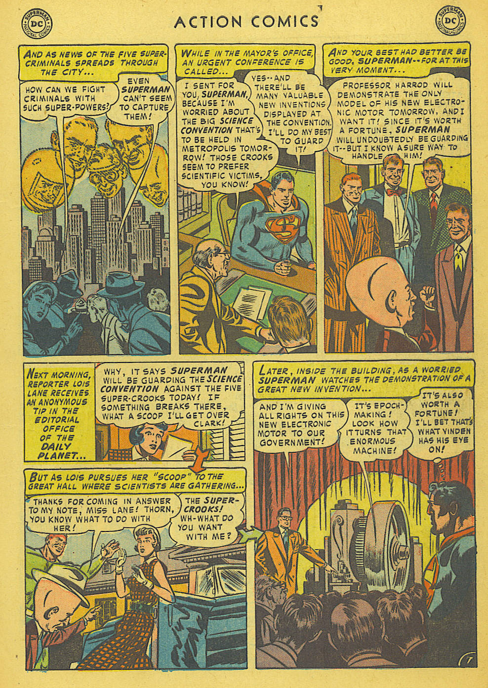 Read online Action Comics (1938) comic -  Issue #175 - 9