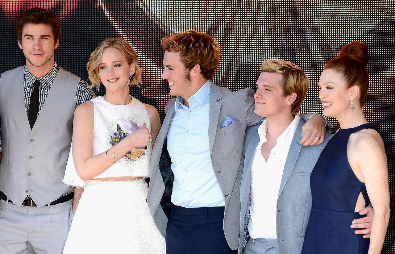 Mockingjay Part 1 Cast Photocall at the 2014 Cannes Film ...
