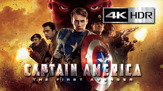 Capitán América: El primer vengador (2011) REMUX 4K UHD [HDR] Latino-Castellano
