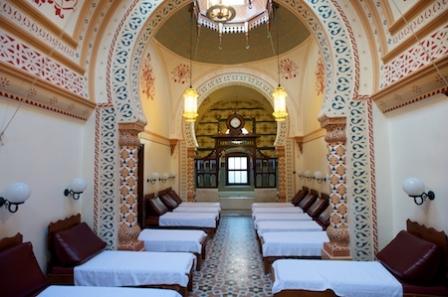 Харрогит. The Royal Baths. Турецкие бани