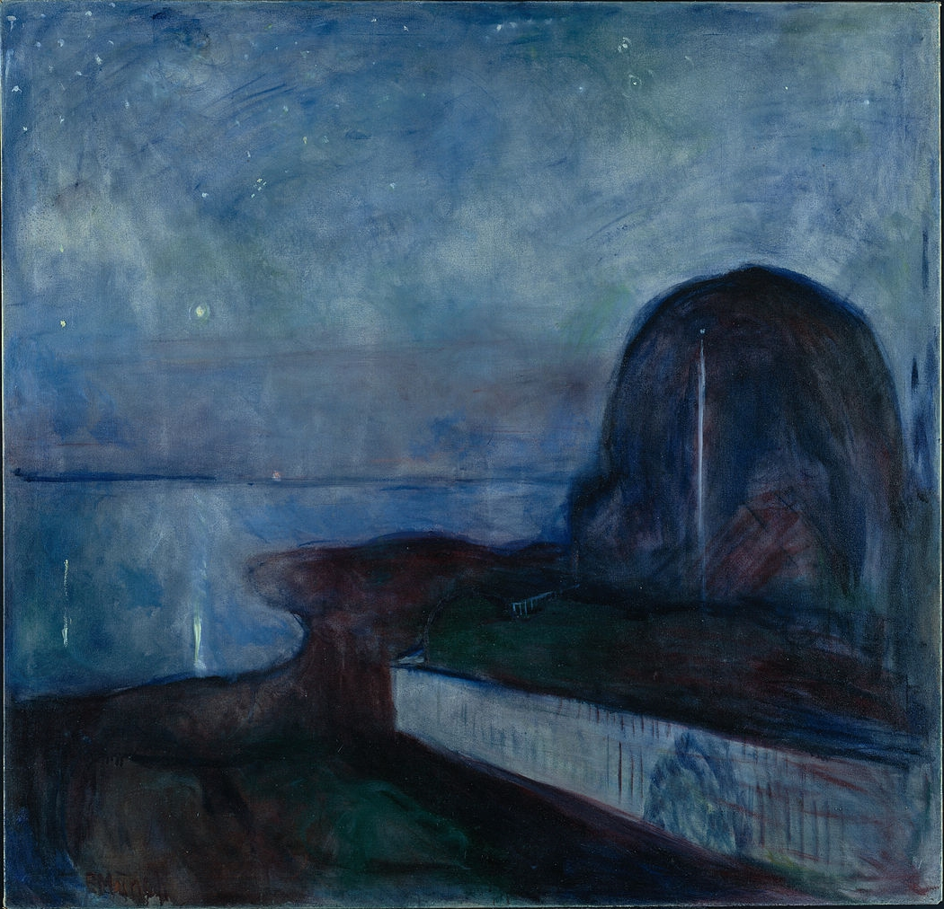 Edvard-Munch-Starry-Night-1893-Getty-Center