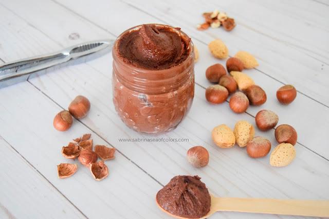 Nutella casera ¡sin azúcar!