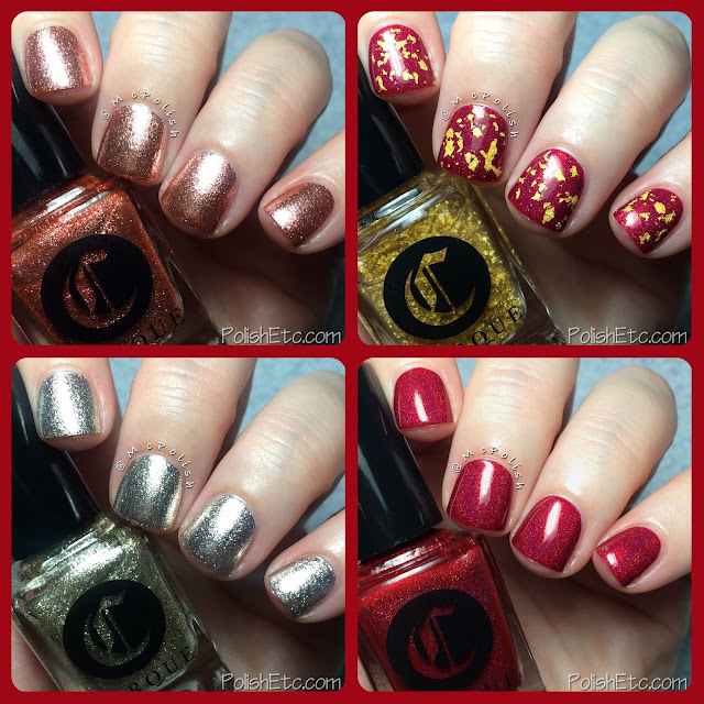 Cirque Colors - Holiday 2015 Collection - McPolish