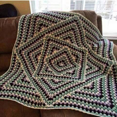 Crochet Stitches Granny Square Youtube : ... ?????? ????? ???? ???.very beautiful granny crochet
