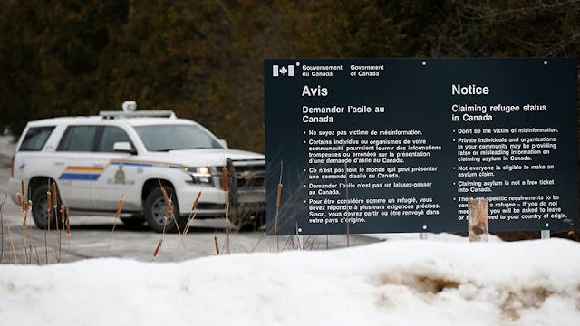 """EE.UU. fortalece la frontera con Canadá para """"mejorar la seguridad"""""""