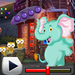 G4K Funny Elephant Rescue 2 Game Walkthrough